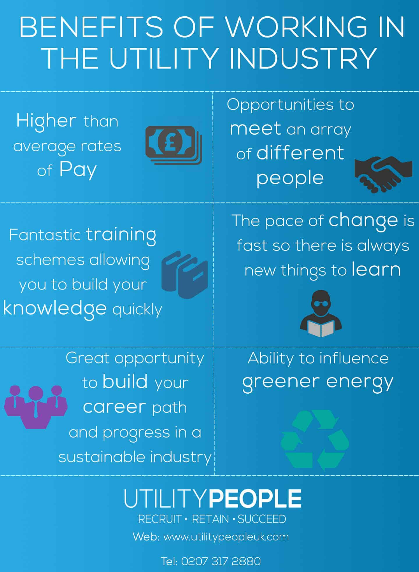 Benefits of working in the Utility Industry - Utility People